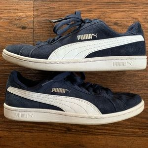 Puma   Navy Blue Sneakers Size 8.5